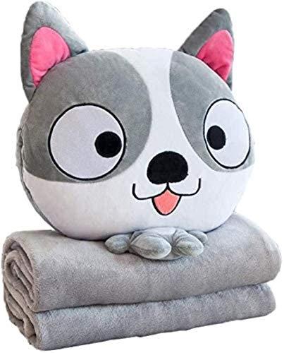 Living Equipment Cojines de almohada rellenos y almohadas para sofá Cojín multifuncional Manta de almohada Fundas de almohada decorativas Adultos Niños multifuncional 3 en 1 Throw Pillow Hand Warmer