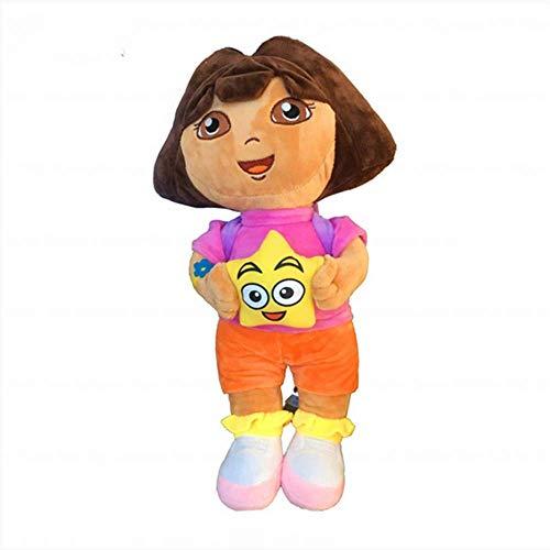 zjq Kuscheltier 50 cm Nette Dora Gefüllte Plüschtiere Von Dora Puppen Spiel Puppe Für Kinder Geburtstagsgeschenk