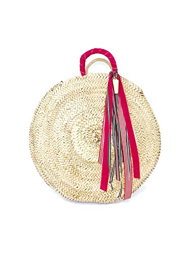Cuckoo B Ramona Straw Visor Hat