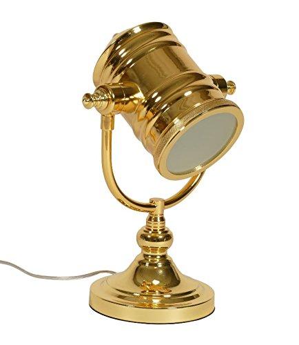 Tischleuchte Barock Tischlampe gold