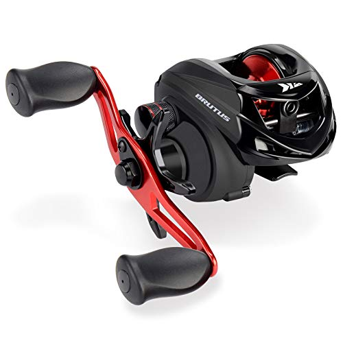 KastKing Brutus Baitcasting Fishing Reel,6.3:1 Gear Ratio,Right Handed Reel