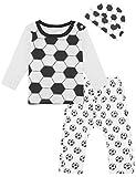 COSLAND Infant Baby Boys' Sports Pants Set, Soccer, 12-18 Months