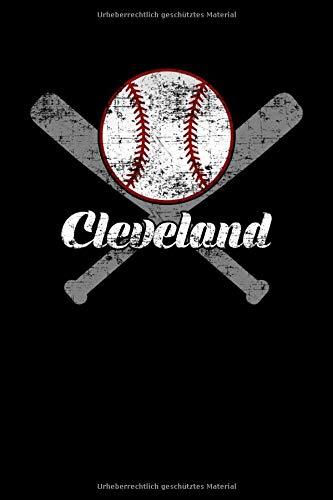 Ohio Cleveland Baseball verzweifelt: Gepunktetes Papierheft   120 Blatt   Planer Journal   Dotgrid   6 x 9 in   15,24 x 22,86 cm   Punktgitterbuch   Lustiges großes Geschenk