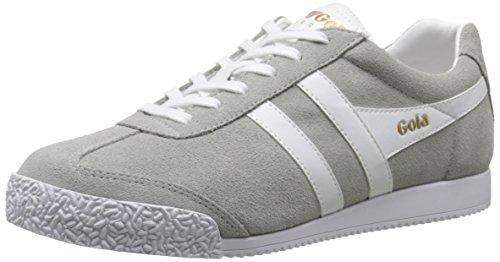 Gola Damen Harrier Suede Sneakers, Grau (Grey/White), 37 EU