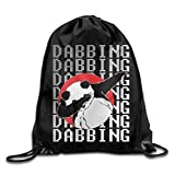 Drempad Coulisse Sacchetto,Zaino Coulisse Sacchetto, Drawstring Bag Dabbing Drawstring Backpack Rucksack Shoulder Bags Training Gym Sack for Man And Women