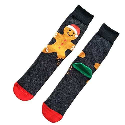 Kapmore Kerst Sokken Leuke Pop Ademende Stretchy Katoenen Sokken Crew Sokken voor Mannen