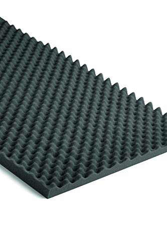 Aislante Pared/Friso Acústico NMC NOMA® ACOUSTIC Pack 2 unidades 1000X500X25mm Poliuretano 40% absorción acústica 1 m2