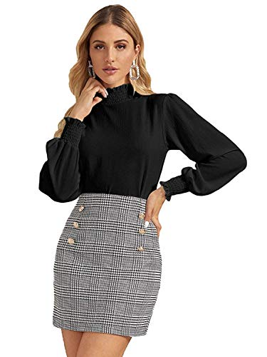 Istyle Can Women Casual Frill Trim Full Sleeve Solid Top...