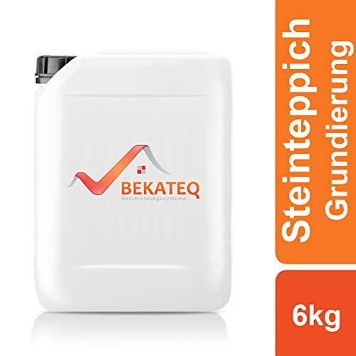 BEKATEQ BK-620EP Steinteppich Grundierung, 6kg farblos, 2K Epoxidharz Tiefengrund Natursteinteppich