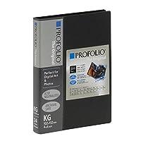 (業務用10セット) PROFOLIO(プロフォリオ) The Original デジタルアート&フォトホルダー KG判/24P ブラック IA-12-4N
