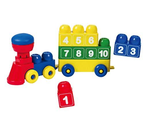 Tutor Blocks Mi primer bloque magnético Serie 203 con tren numérico para niños pequeños, juguete de aprendizaje para bebés a partir de 6 meses