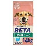 BETA Light Adult Dry Dog Food Turkey 14kg
