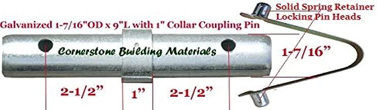 10 Scaffolding Coupling Pin 1-7/16