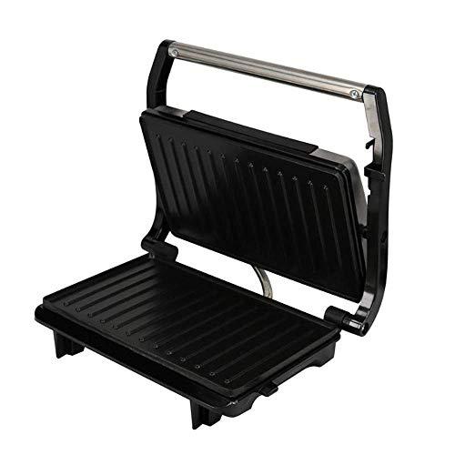 YFGQBCP Tostadora automática, Inicio Bistec a la Parrilla Máquina de Doble Cara Calefacción Desayuno Máquina Tostado Hamburguesa Sandwich Bandeja de Horno de Hierro
