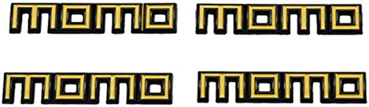 Momo Car Stickers Decals, Yellow