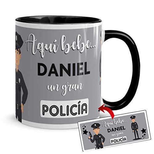 Kembilove Taza de Café del Mejor Policía del Mundo Personalizada con el...