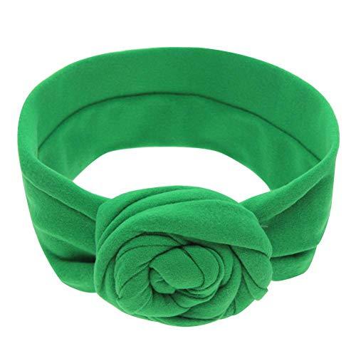 Fdit Kids Knot Hoofdband Baby Rose Patroon Haarband Wrap Accessoire Fotografie Prop