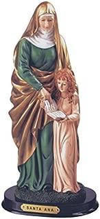 StealStreet SS-G-312.81 Santa Ana Holy Figurine Religious Decoration Statue Decor, 12