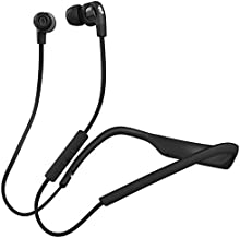 Skullcandy Smokin' Buds 2 In-Ear Bluetooth Wireless Earbuds with Microphone, Black