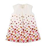 Sterntaler Baby-Mädchen Kleid, Beige (Ecru 908), 12-18 Monate (Herstellergröße: 86)
