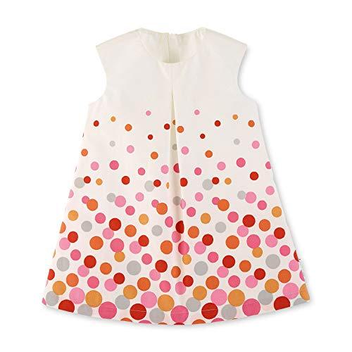Sterntaler Baby-Mädchen Kleid, Beige (Ecru 908), 9-12 Monate (Herstellergröße: 80)
