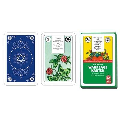 ASS Altenburger Spielkarten Wahrsagekarten Madame Lenormand mit Versen und Regelwerk, 36 Blatt