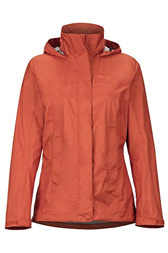 Marmot Damen Hardshell Regenjacke, Wasserdicht, Winddicht & Atmungsaktiv Wm's PreCip Eco Jacket, Picante, M, 46700
