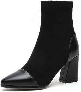 BalaMasa Womens Nubuck Solid Boots Urethane Boots ABM12976