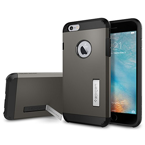 Spigen Funda Tough Armor Compatible con Apple iPhone 6S Plus/ 6 Plus, Doble Capa y Protección Extrema contra caídas - Bronce