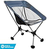 Wildhorn Terralite Ultralight Heavy Duty Portable Camping Chair - for Adults, Beach, Travel, Backpacking and Camping