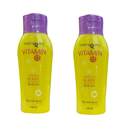 Mannequin Set of 2 Vitamin E Stretch Mark Preventing Skin Oil (2 * 100ml)