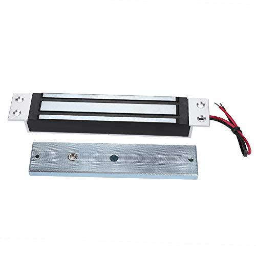280kg / 600Lbs Cerradura magnética eléctrica Fuerza de retención Bloqueo electromagnético Modo seguro DC12V NC