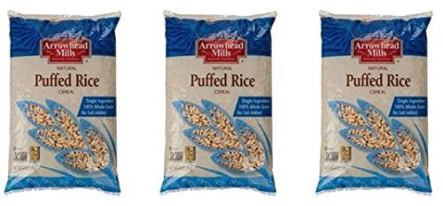 Arrowhead Mills Puffed Brown Rice Cereal 6 OZ (Pack of 3)