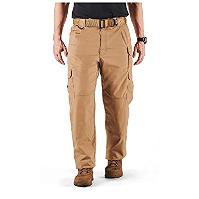 5.11 Men's Taclite Pro Tactical Pants, Style 74273, Coyote, 36Wx32L