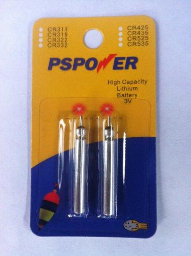 PS Powerstation CR435 1 Blistercard a 2 Stabbatterien