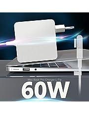 """Eletrand Caricatore Mac Book Pro L-Tip 60W Adattatore alimentazione L-Tip 60 W per Mac Book Pro/Air Compatibile con Mac book Pro 11""""e 13"""" pollici prima della metà del 2012, funziona con 45W / 60W"""