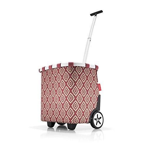 reisenthel carrycruiser diamonds rouge 42 x 47,5 x 32 cm