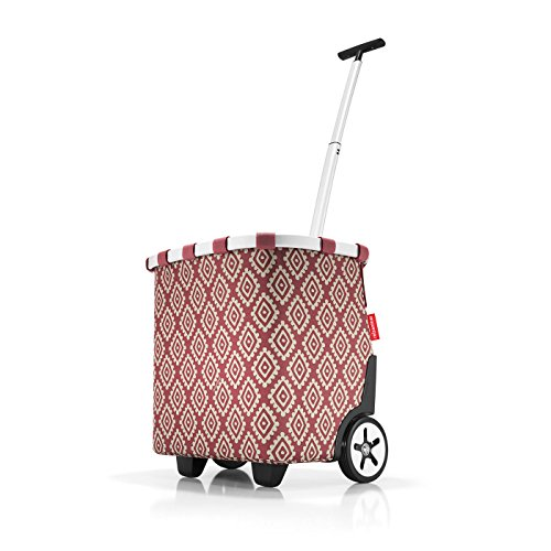 reisenthel carrycruiser diamonds rouge 42 x 47,5 x 32 cm