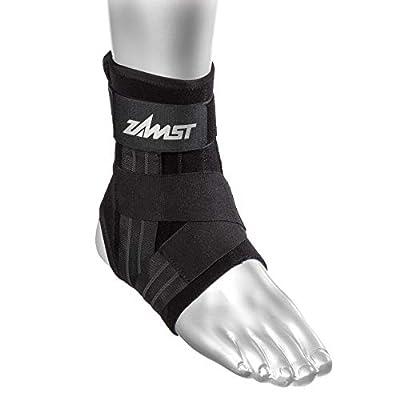 Zamst A1 Right Ankle Brace, Black, Large