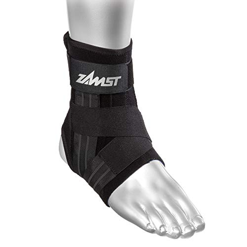 Zamst A1 Right Ankle Brace, Black, Small