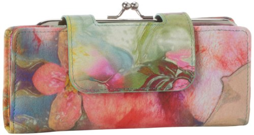 Hot Sale HOBO Nancy VI-3932PAIF Wallet,Painted Floral,One Size
