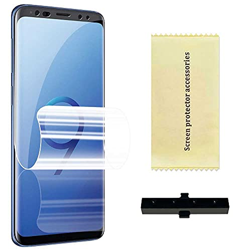 OcioDual Protector de Pantalla TPU Hidrogel para Samsung Galaxy S9 Flexible Membrana Lámina Protectora Cubierta Antiarañazos