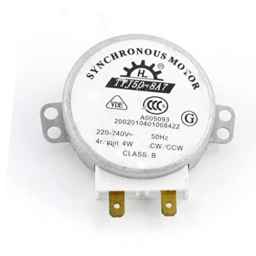 X-DREE AC 220V / 240V CW / CCW 4W Mesa de giro del horno microondas sincrónica(AC 220V/240 ν CW/CCW 4W Microwave Oven Turn Table Synchronous Motor