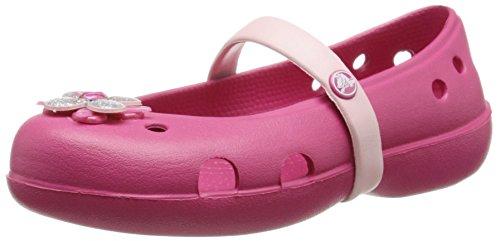 Crocs Crocs Keeley Springtime Ps, Mädchen Clogs, Rot (Raspberry/Petal Pink 629), 23/24 EU