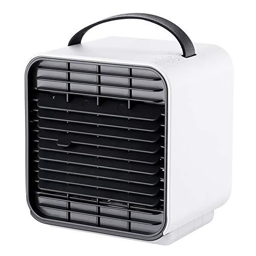 GAOword Ventilatore di Aria Condizionata Silenzioso Desktop Estivo Carica USB Ioni Negativi Purificazione dell'Aria Umidificazione Mini Ventilatore Ventola di Refrigerazione