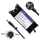 FSKE® 65W 19.5V 3.34A Cargador del Ordenador Portátil para DELL LA65NS0-00 Power Supply, XPS 13 Inspiron 15 13 17 Latitude E5440 E7240 Notebook EUR Adaptador,7.4 * 5.0mm