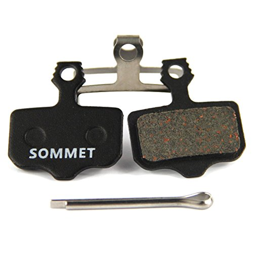 SOMMET Pastillas Freno Disco Semi-metálico para Avid Elixir E1 E3 E5 E7 E9 CR er Avid DB DB1 DB3 DB5 Avid XO XX