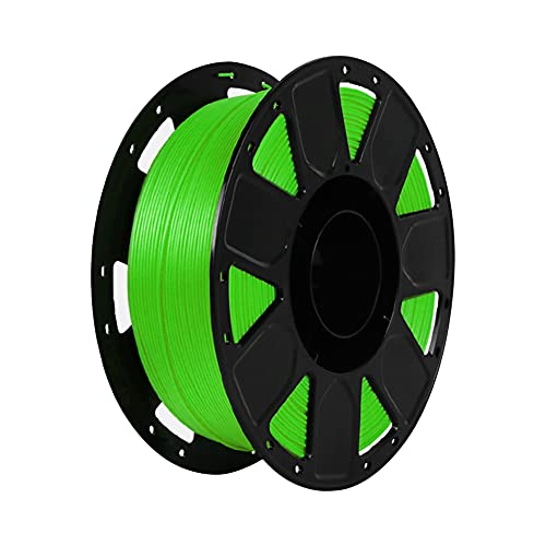 LI Q P R Precision PLA 3D filamento de impresora 1.75mm Dureza Consumibles Material con carrete (verde)
