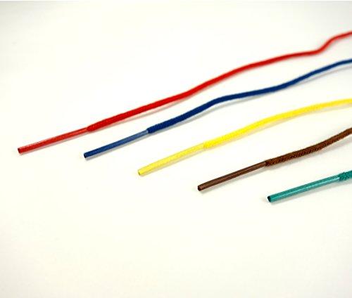 コクヨ『カラーつづりひもセル先長さ450mm20本パック×5色(ツ-S141)』