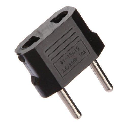 Netadapter, stopcontact, VS, China op Europa, Frankrijk, 2 stuks